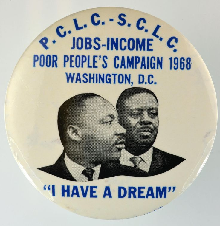 button with MLK